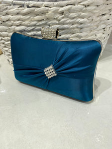 Teal Blue Clutch