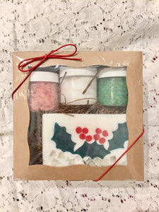 Holiday Gift Bath Set