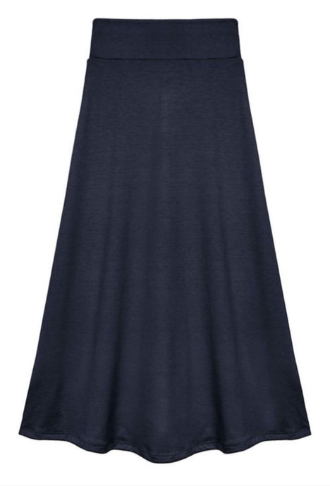 Girls Maxi Skirt in Black or Navy Style 402 - The Skirt Boutique