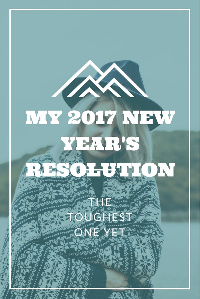 The TOUGHEST New Year's Resolution I've ever made!