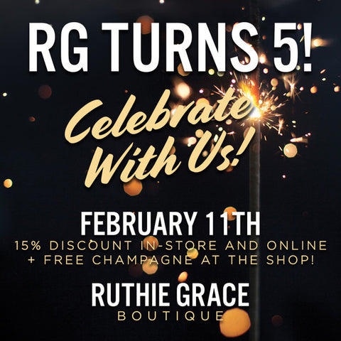 Celebrate 5 Years of Ruthie Grace!