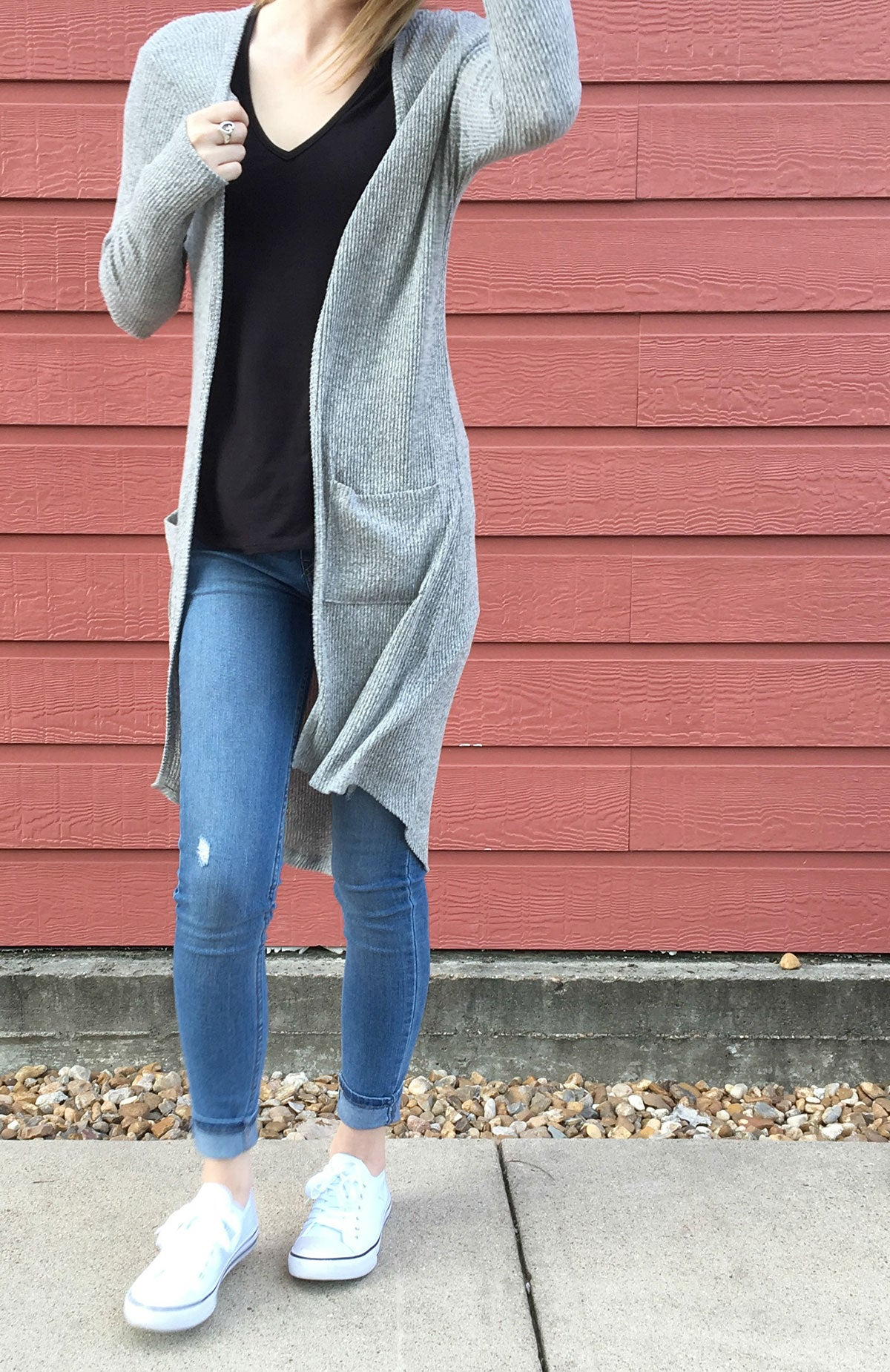 chic look cardigan