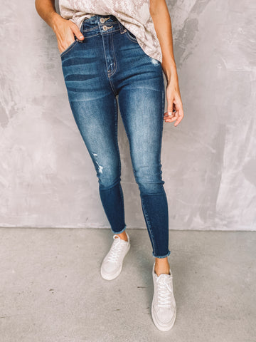 Sedona High Rise Skinny Ankle Jeans