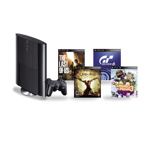 PlayStation 3 500GB + 4 Juegos