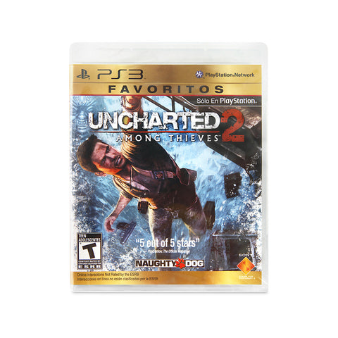 Uncharted 2: Among Th para Play Station 3