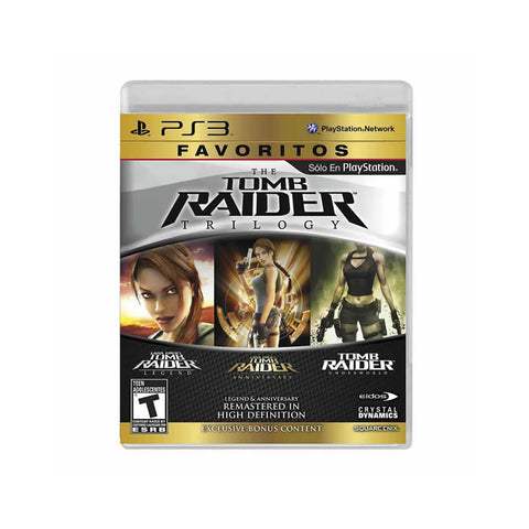 Tomb Raider Trilogy Hd Favorito para Play Station 3