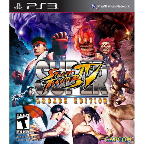 Super Street Fighter 4 Arcade para Play Station 3