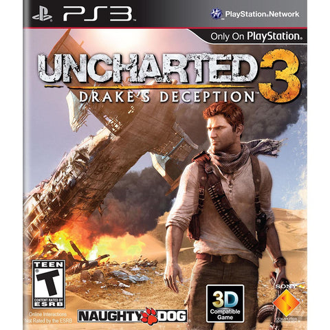 Uncharted 3: Drake's Deception para Play Station 3