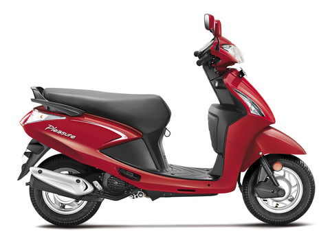 Moto Hero Pleasure 2 Rojo