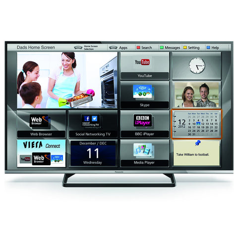 "TV LED Panasonic 40"" Full HD TC-40CS600L"