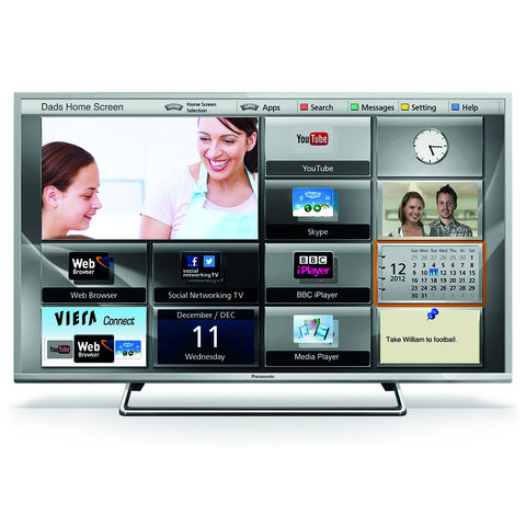 "TV LED Panasonic 43"" Full HD TC-43CS630L"