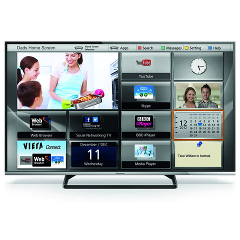 "TV LED Panasonic 50"" Full HD TC-50CS600L"
