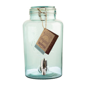 Drinks Dispenser - 5 Litre Kilner - Blue - Sale Offer
