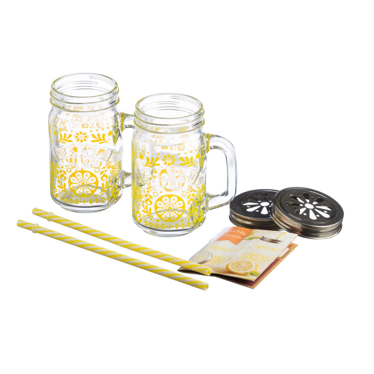 Lemonade Drinking Set - Kilner
