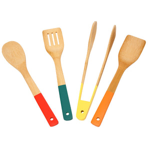 School of Wok Bamboo Tools Set of 4 - 12322034