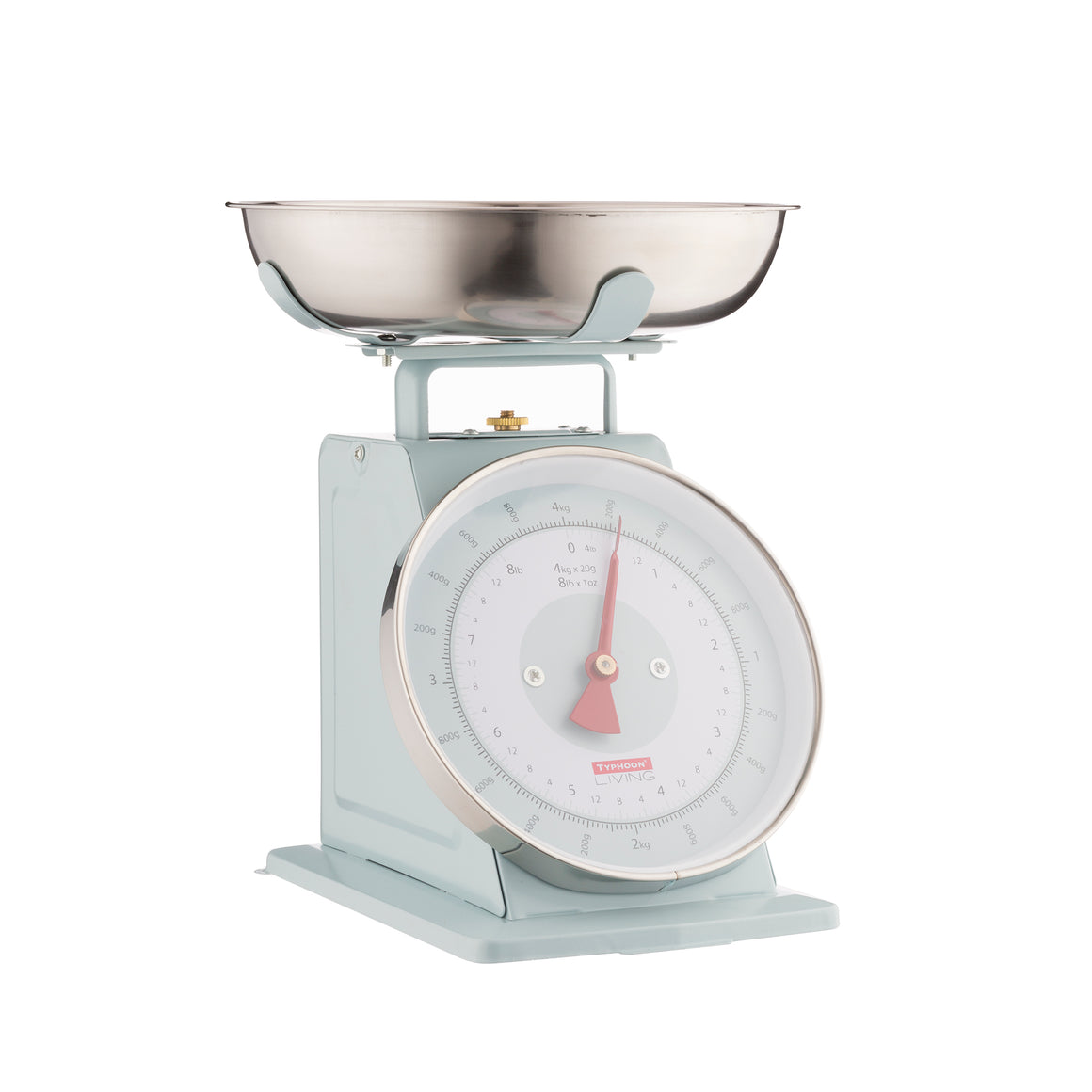 Living Scales - Typhoon - 4kg Mechanical Scales in Blue - 1400.147