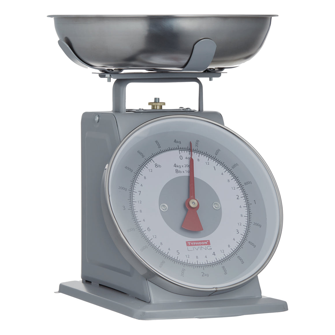 Living Scales - Typhoon - 4kg Mechanical Scales in Grey - 1400.149