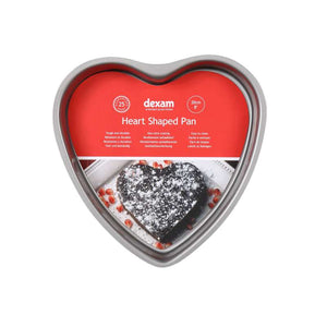 Dexam Non-Stick Heart shaped pan 20cm