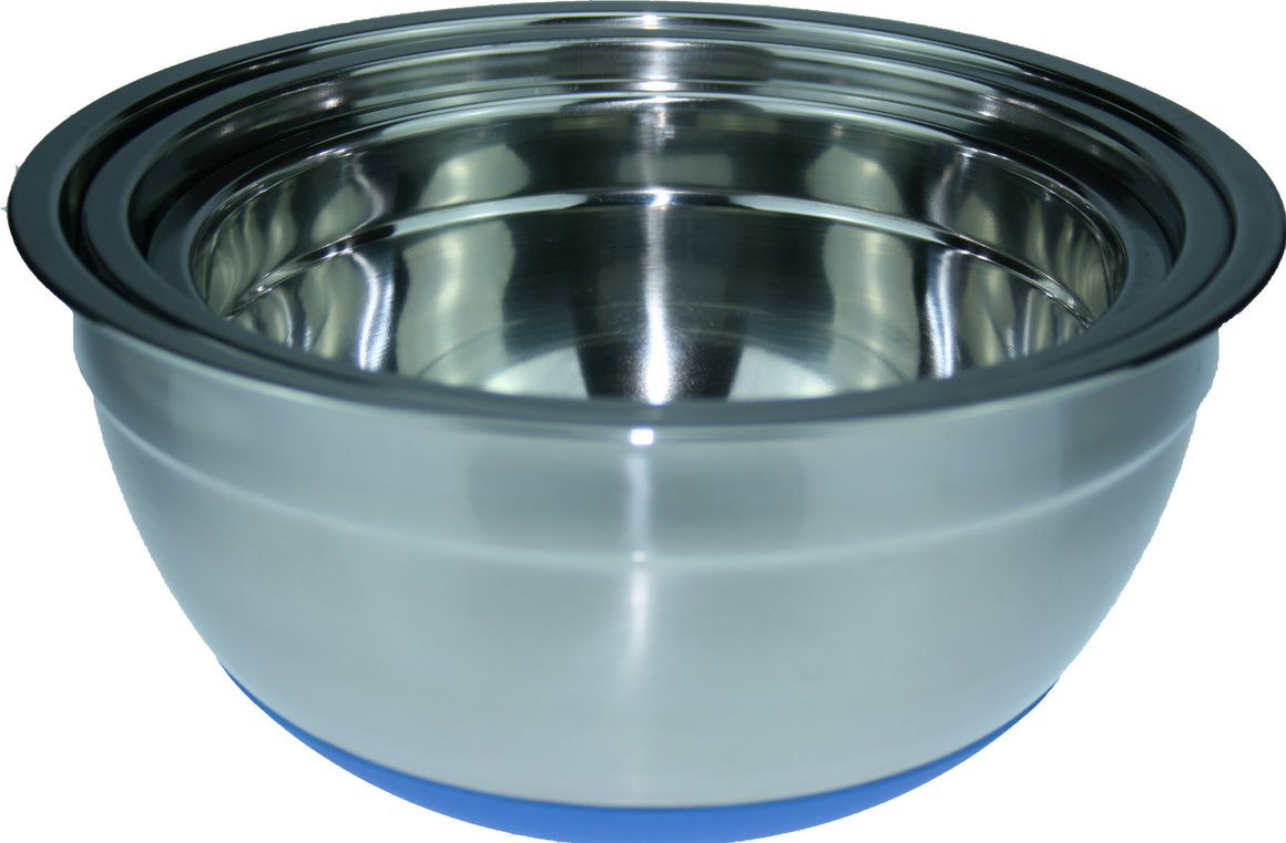 Poppy's Cookshop Stainless Steel Mixing Bowls Set of 3