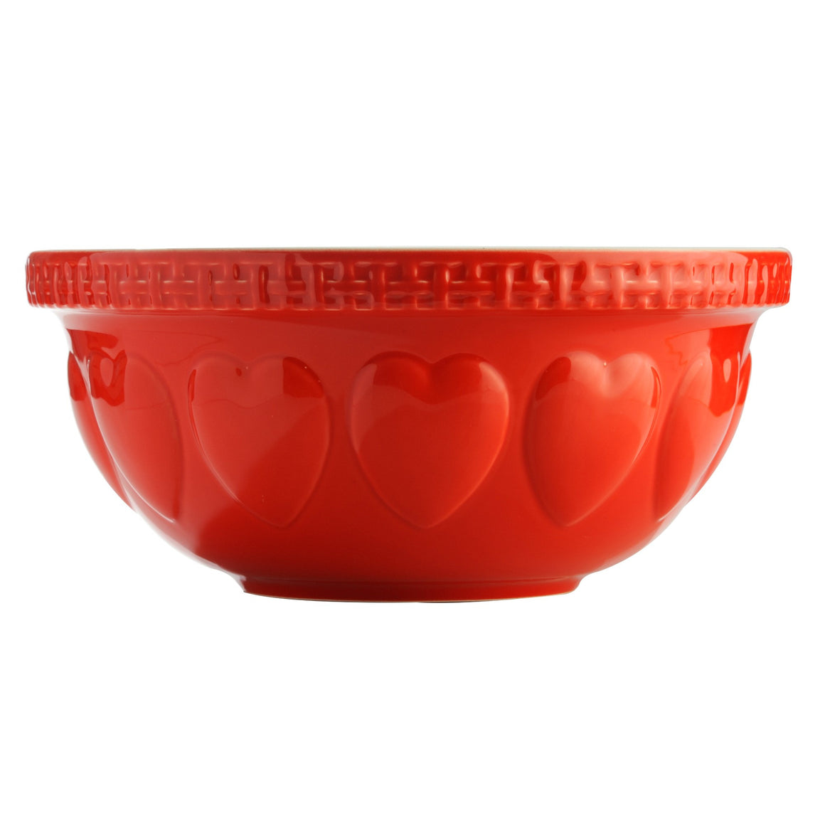 Mixing Bowl - Red Hearts