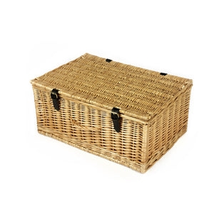 Empty Wicker Hamper -  Large - 45cm x 30cm x 20cm