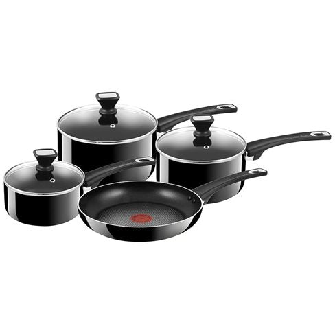 TEFAL JAMIE OLIVER Hard Enamel Non-Stick Essential 4 Piece Set