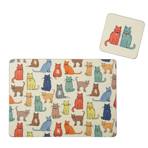 CATWALK PLACEMATS Pack of 4