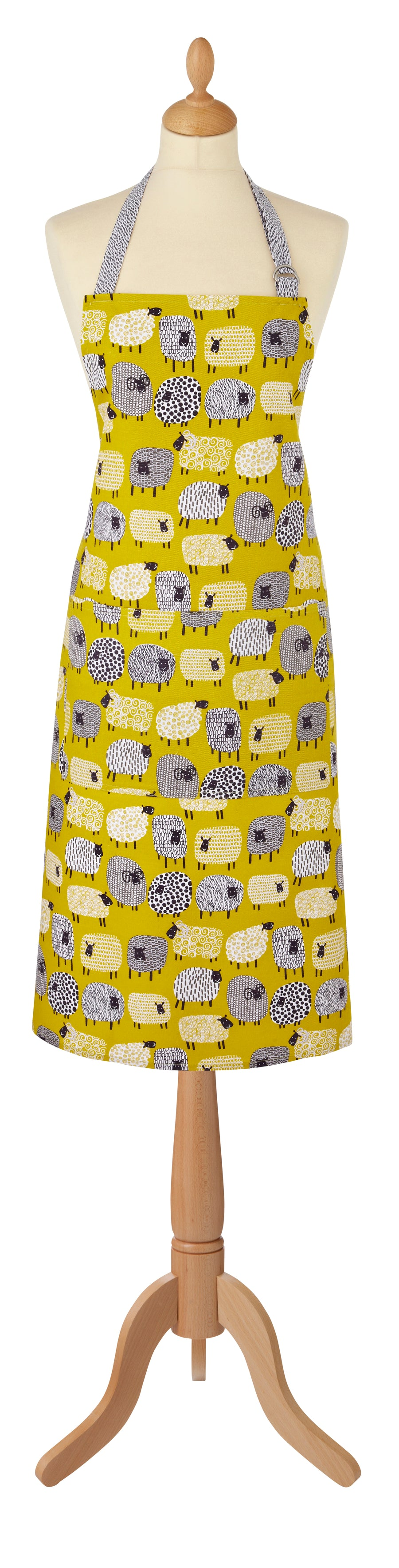 DOTTY SHEEP COTTON APRON - 7DTS01