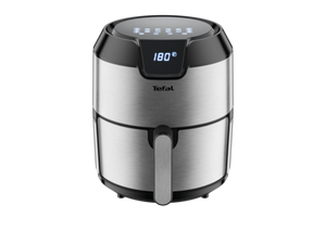 TEFAL Easy Fry Deluxe EY401D40 Digital Air Fryer – Stainless Steel & Black / 4.2L / 1.2kg