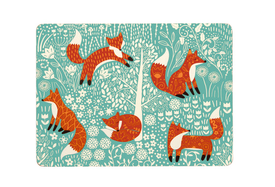 FORAGING FOX PLACEMAT Pack of 4