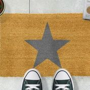 Star Grey Doormat GREY-STAR