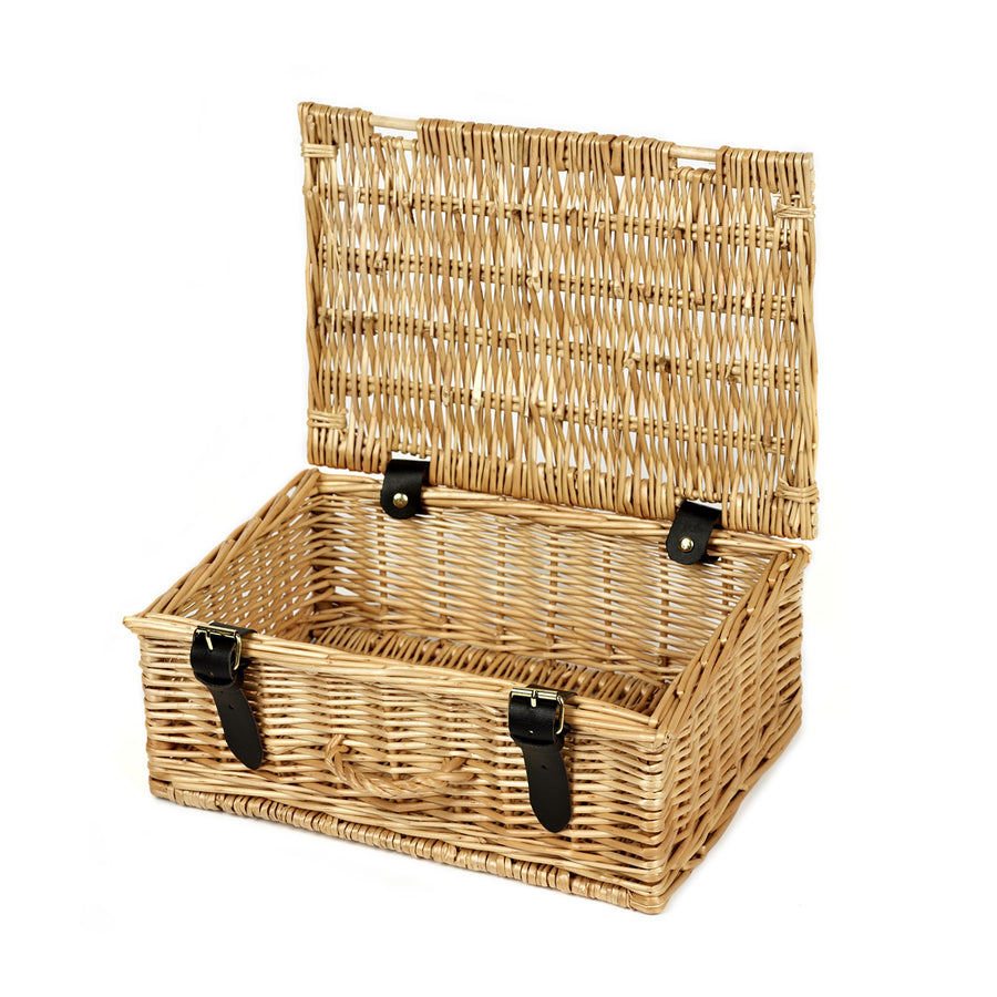 12 Inch Wicker Hamper - Empty - 32*22*13