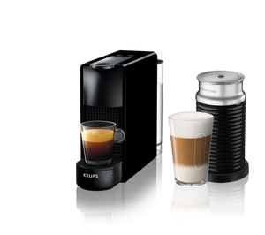 KRUPS NESPRESSO ESSENZA MINI BLACK BUNDLE