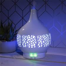 Colour Changing Ceramic Aroma Humidifier Diffuser - LP44943