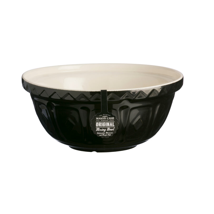 COLOUR MIX S12 BLACK MIXING BOWL 29CM - Mason Cash - 2001.841