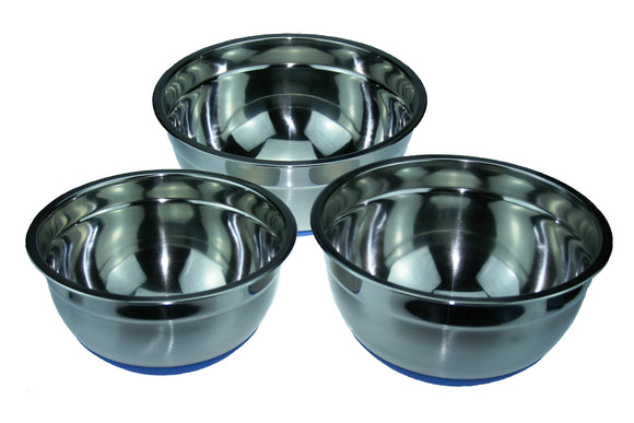 Stainless Steel Mixing Bowls Set of 3