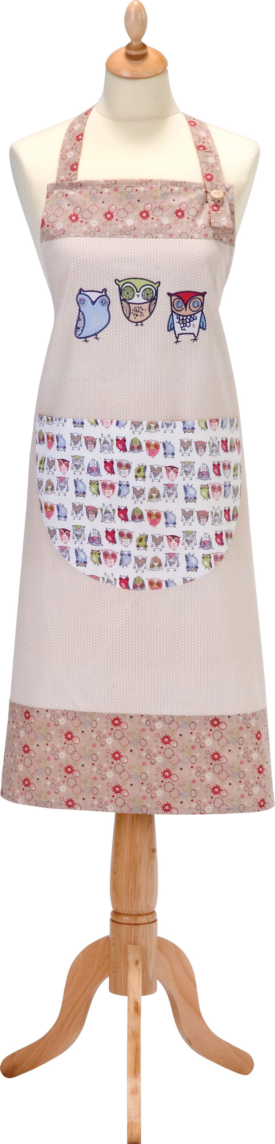TWITTER STYLED COTTON APRON
