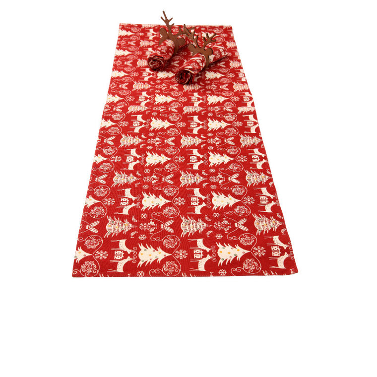 Winter Garden Table Runner