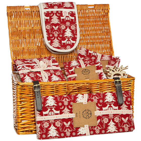 Christmas Kitchen Hamper Gift Set - December Only Offer - Free delivery