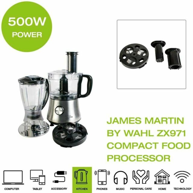 James Martin by Wahl Compact Food Processor - ZX971