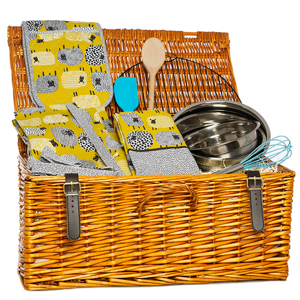Dotty Sheep Design Baking Gift Hamper