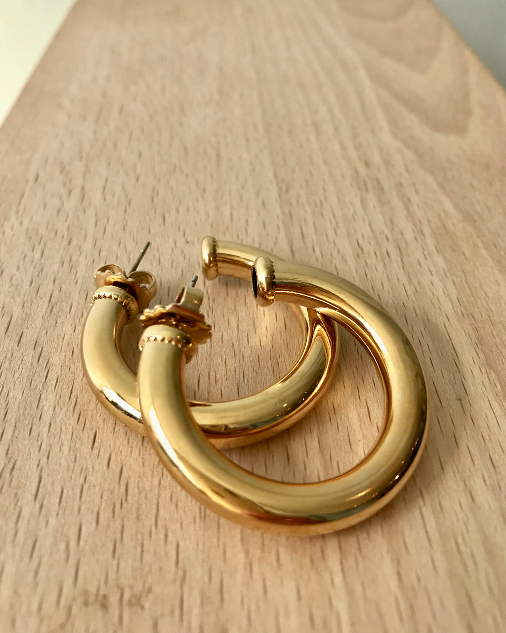 Cuchara Mini Kinney Gold Hoops