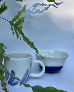 ARDITH X KSJAARDA Handmade ceramic small mug and bowl