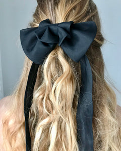 Organza Black Bow Ribbon