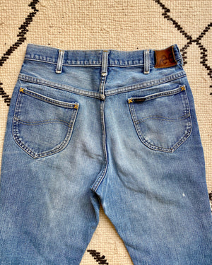 Vintage High Waisted LEE Jeans 1970's size 30