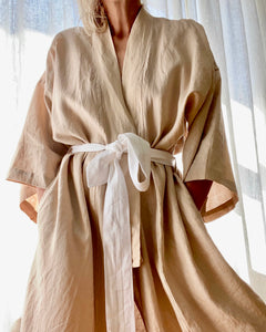 DEIJI STUDIOS 02 Robe in Blush one size
