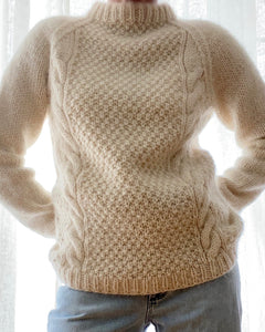 Vintage Fisherman Cable Wool Sweater