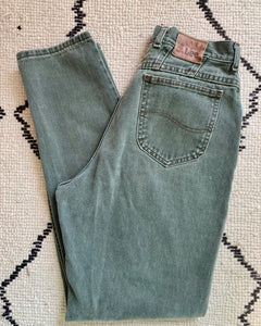 Vintage High Waisted Army Green LEE Jeans size 29