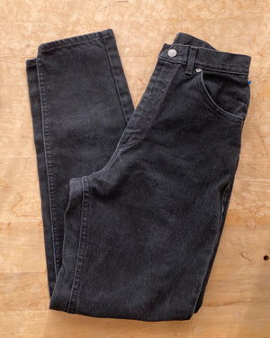 Vintage LEEs Made in USA Black Wash Jeans size 27