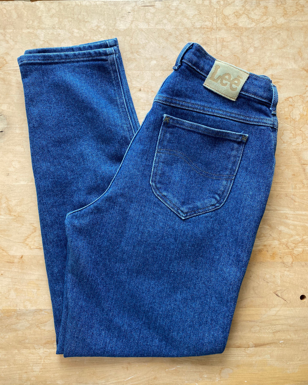 Vintage LEEs Made in USA Medium Wash Jeans size 29-30